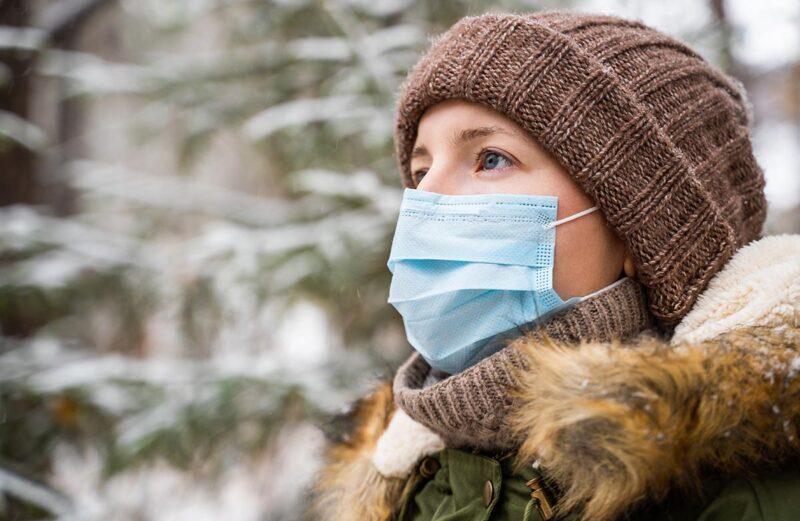 Nošenje zaščitnih mask