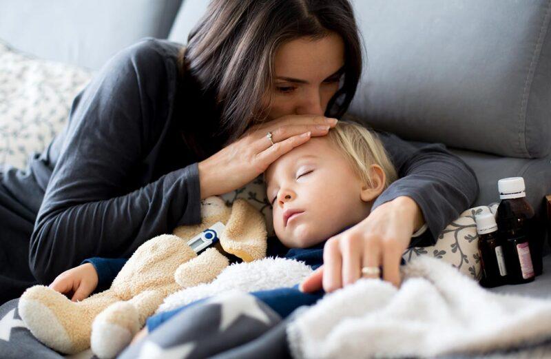 ZIMA Sezona gripe: Poiščite najboljši vlažilec zraka za otroško sobo